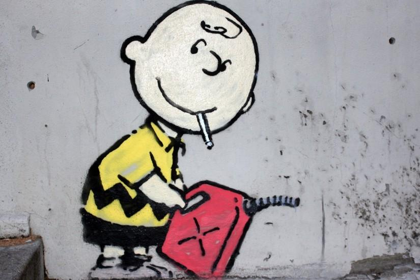Charlie Brown Peanuts Graffiti Wallpaper ...
