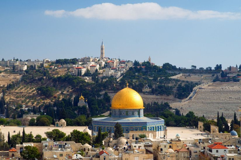 Israel Jerusalem Dome Of The Rock Wallpapers