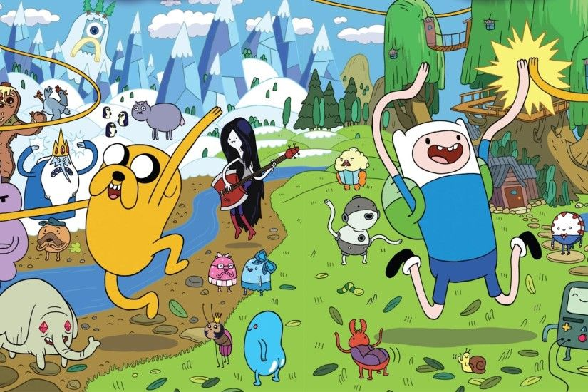 What's in the theme? This theme pack consists of several HD Adventure Time  wallpapers ...