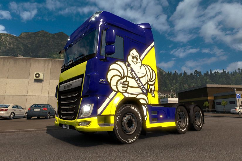 Euro Truck Simulator 2: Michelin Fan Pack Screenshot