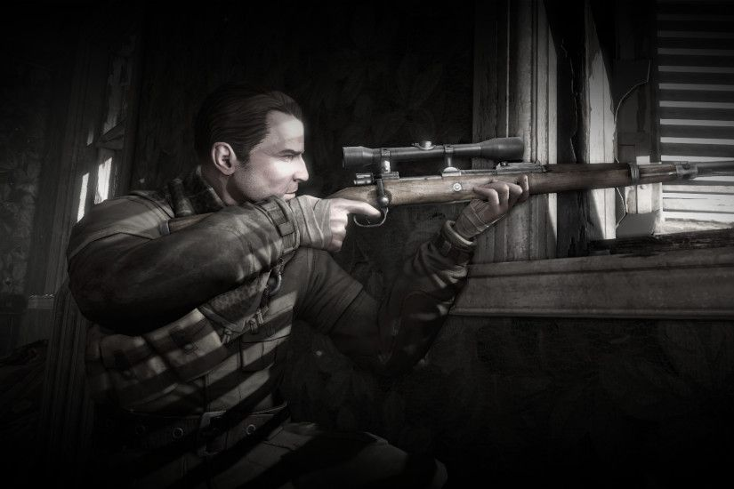 ... Karl Fairburne Wallpaper (Sniper Elite V2) by Ultimatum227