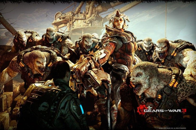 Wallpapers For > Gears Of War Locust Wallpaper Hd