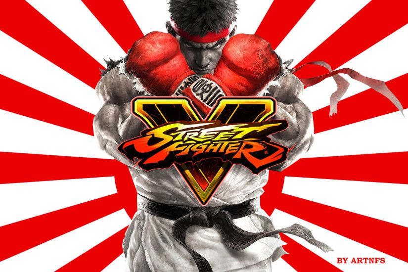Street Fighter V Ken x Ryu Gameplay New Stage Alex Direct Feed BGS .