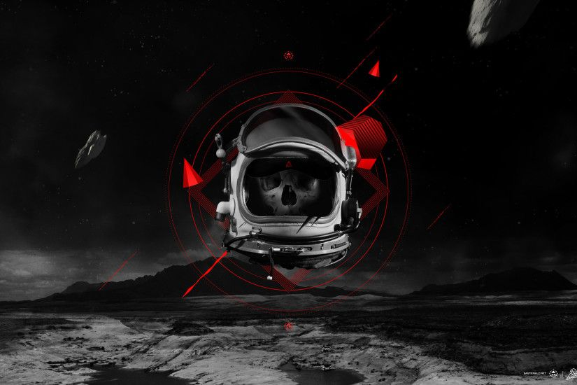 Dead Astronaut Wallpaper by bastienald Dead Astronaut Wallpaper by  bastienald