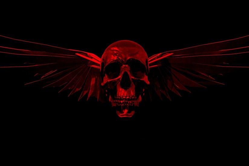 1920x1080 Red And Black Skull Wallpapers (45 Wallpapers)