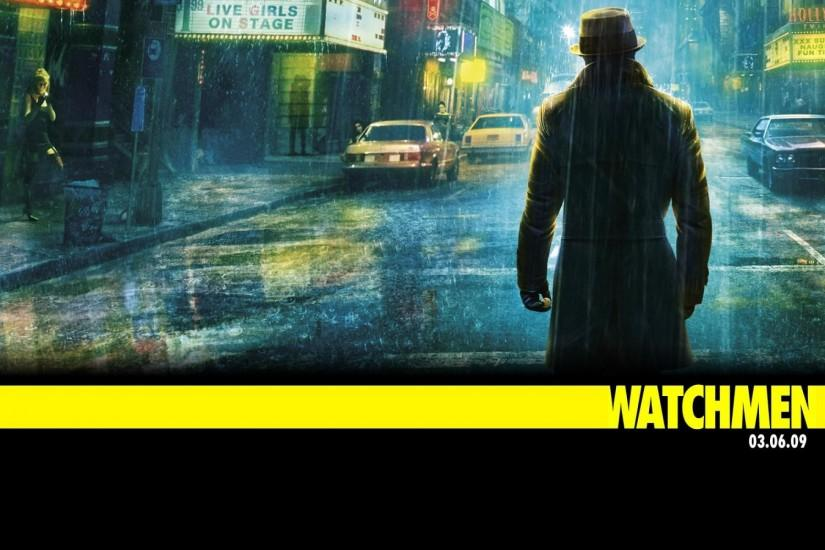 Watchmen the Movie Rorschach Wallpaper