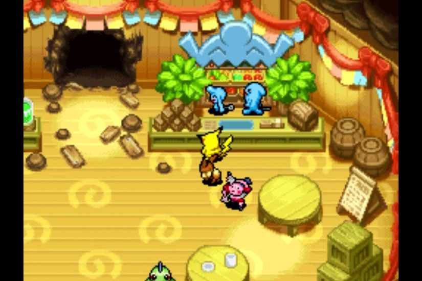Pokémon Mystery Dungeon: Explorers of Sky - Recycle Shop Big Win - YouTube