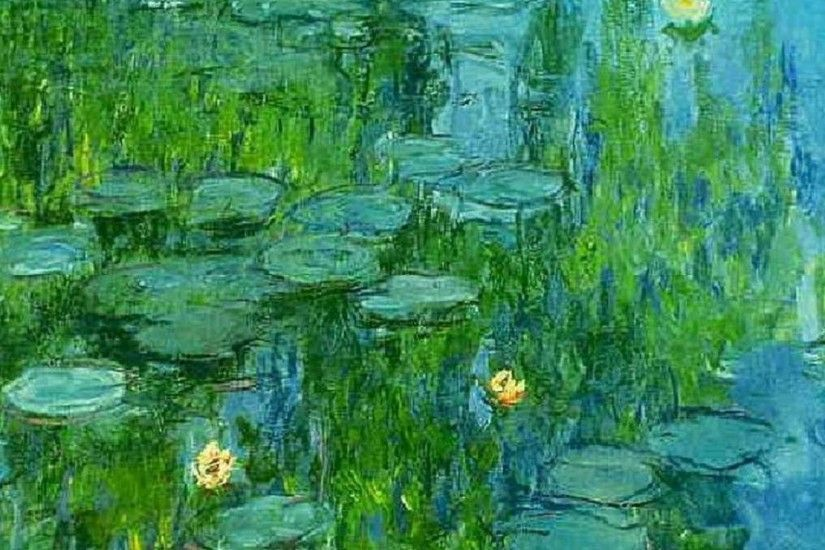 claude monet water lilies wallpaper - (#65302) - HQ Desktop . ...