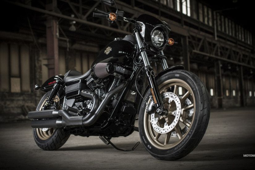Motorcycles wallpapers Harley-Davidson Dyna Low Rider S - 2016