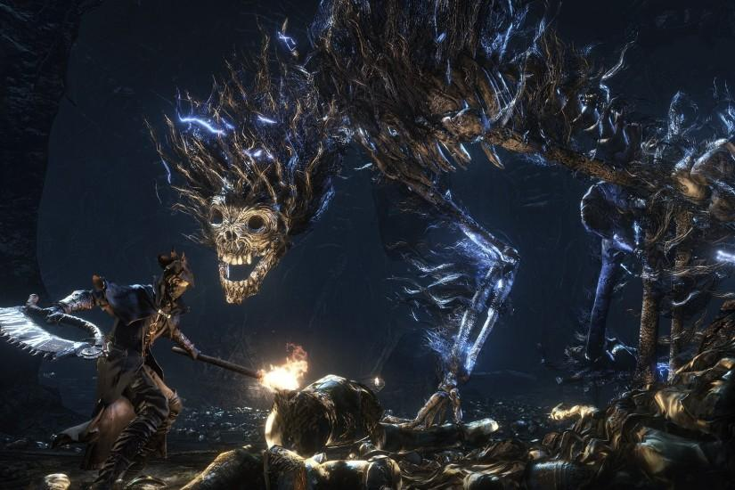 widescreen bloodborne wallpaper 1920x1080 for windows 10