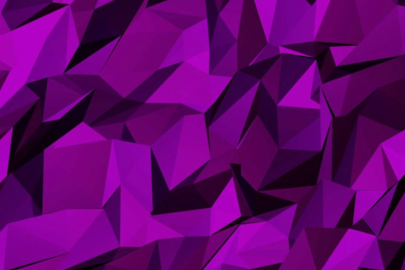 Abstract Pink Polygon Background