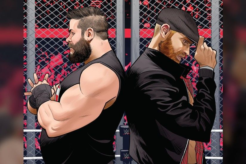 "Kevin Owens and Sami Zayn fight forever in BOOM! Studios' ""WWE #18""!"