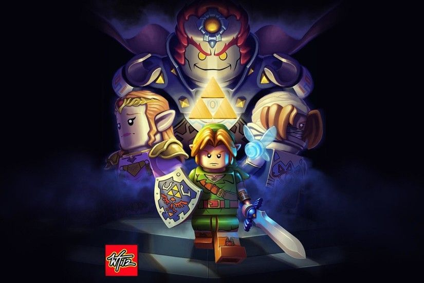 Video Game - The Legend Of Zelda: Ocarina Of Time Ganondorf Hylian Shield  Master Sword