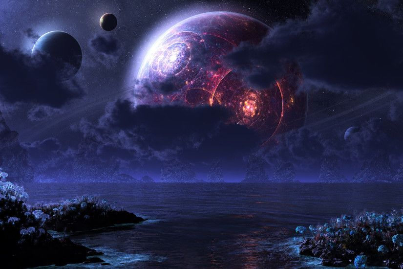 Fantasy Planets Wallpaper ...