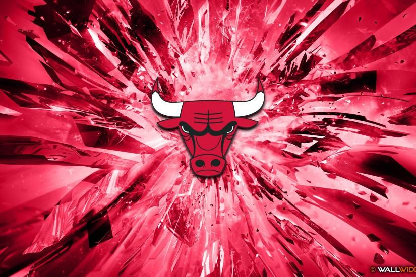 Chicago Bulls 2015 Logo basketball 4K Wallpaper