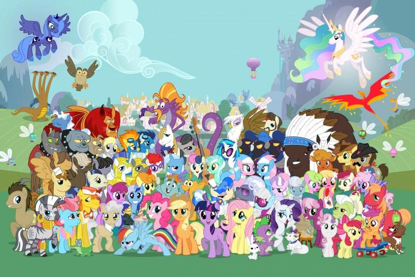 Description: My Little Pony Wallpaper is a hi res Wallpaper for pc .