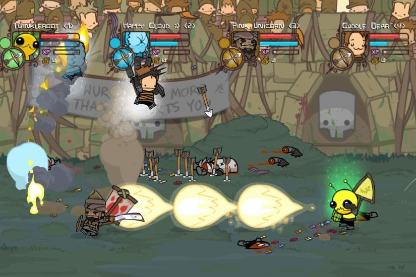 Castle Crashers PC All Characters Magic HD (No Hatty Hattington) - YouTube  | FX | Pinterest | Castle crashers