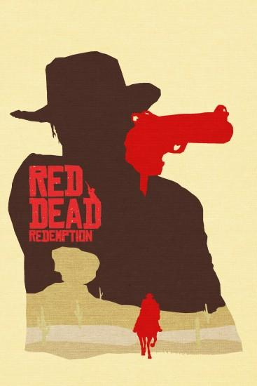 red dead redemption minimalist poster - Buscar con Google