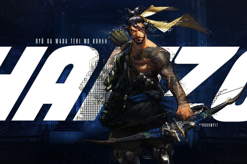 2560x1440 - overwatch, hanzo, bow, arrows # original resolution. overwatch  wallpapers ...
