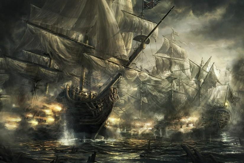 Ghost Pirate Ship Wallpaper - Obaasima.com