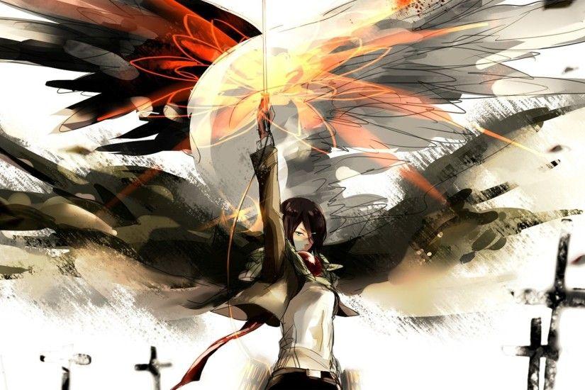 Attack on Titan Logo Wallpaper ·① WallpaperTag