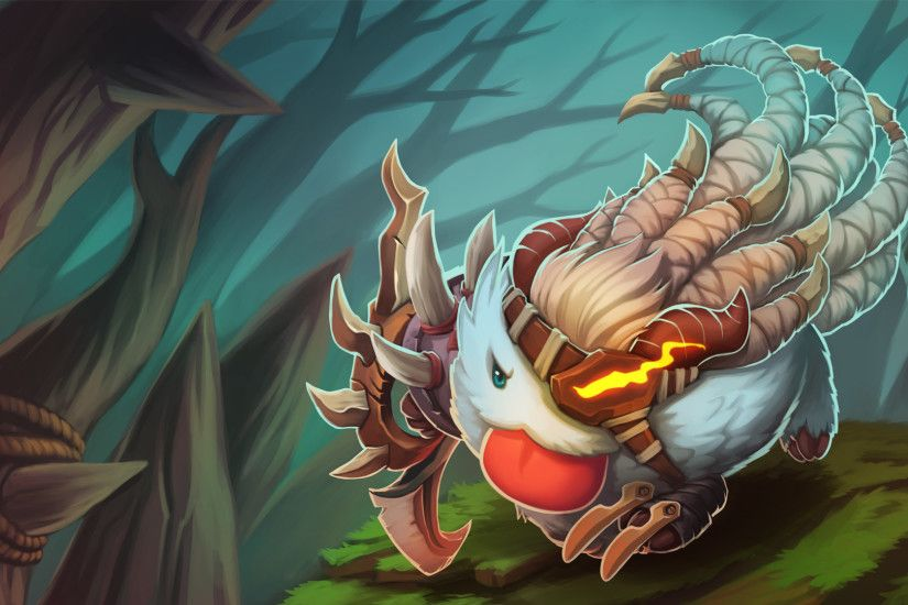Draven Poro Lol Wallpapers