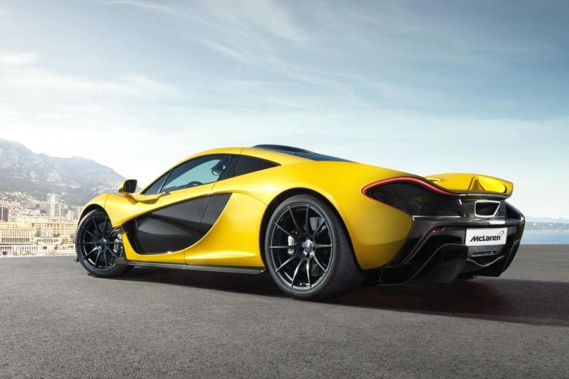 3840x2160 Wallpaper mclaren, mclaren p1, cars, yellow, sport