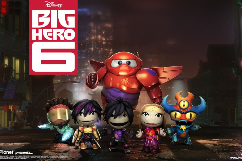 LittleBigPlanet 3 Big Hero 6