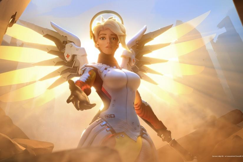 overwatch mercy wallpaper 2560x1440 for mobile hd