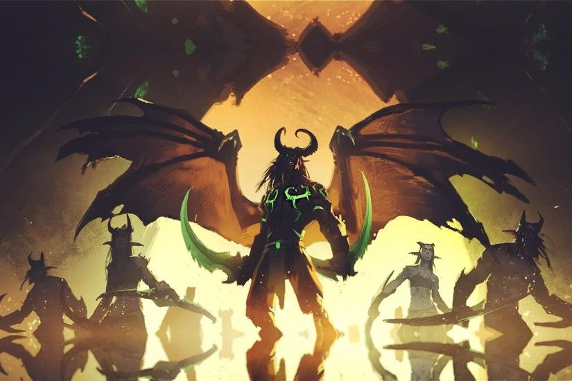 Demon Hunter, World of Warcraft, Demon Hunter WoW Wallpapers HD / Desktop  and Mobile Backgrounds