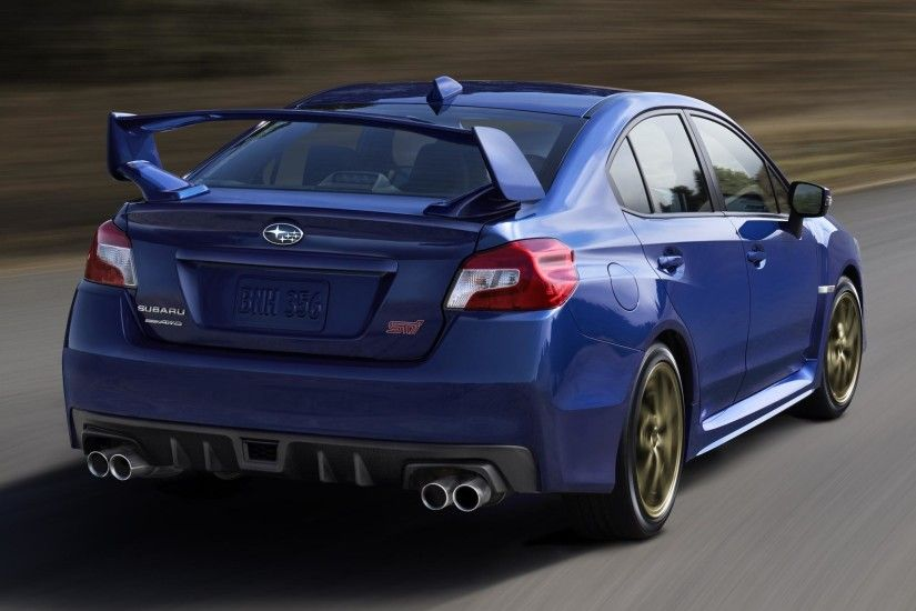 SUBARU WRX STI EXHAUST WALLPAPER