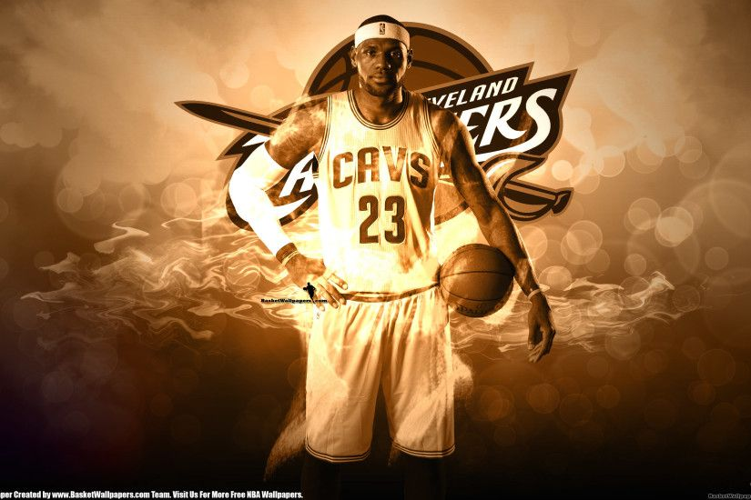 Cleveland Cavaliers LeBron James Wallpaper