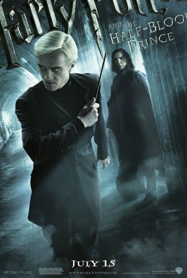 Image - 04-17-09-Half-Blood Prince poster Snape-Draco.jpg | Harry Potter  Wiki | FANDOM powered by Wikia
