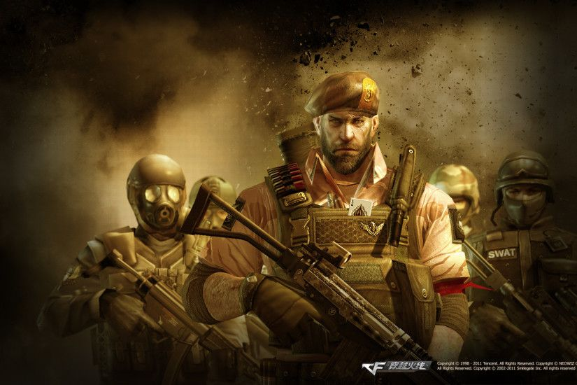... Shooter-game-CrossFire-characters-wallpapers-1 by Dragonsporce