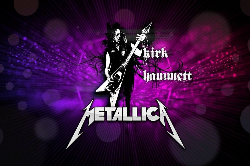 kirk hammett music metallica guitarist rock electric