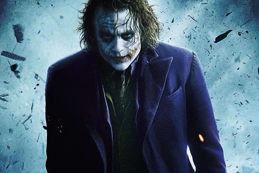 The Joker (The Dark Knight) - Heath Ledger - Batman Wallpaper