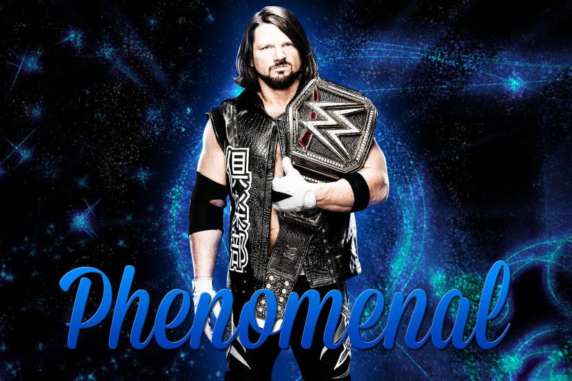 AJ Styles Wallpaper by BrettBrand AJ Styles Wallpaper by BrettBrand
