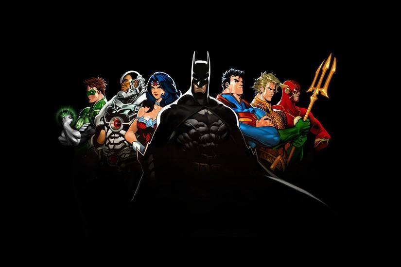 top dc comics wallpaper 1920x1080