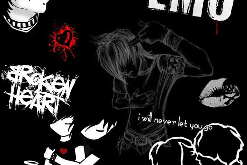 Emo Wallpapers HD - WallpaperSafari