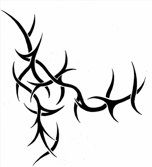 And rose thorn clipart collection rose rose thorn vines tattoo and thorn  clipart collection vine tattoos
