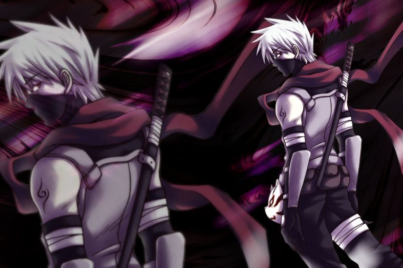 Anime - Naruto Kakashi Hatake Anime Wallpaper
