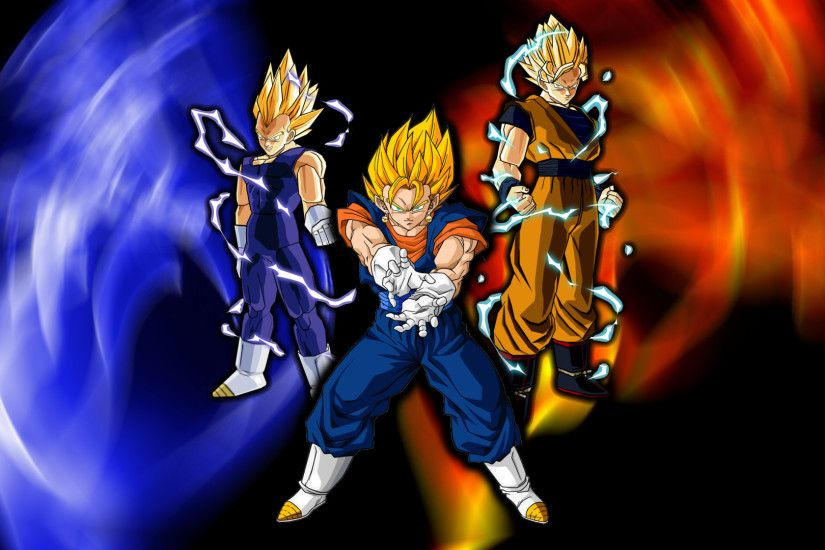 3 super saiyan dragon ball z wallpaper