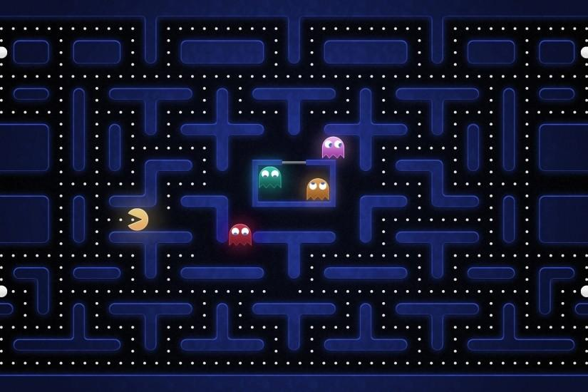 Pac Man, Video Games Wallpaper HD