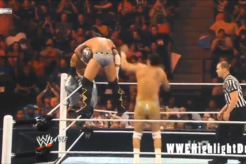 Alberto Del Rio vs CM Punk vs Rey Mysterio Highlights - HD RAW 06/20/11 -  YouTube