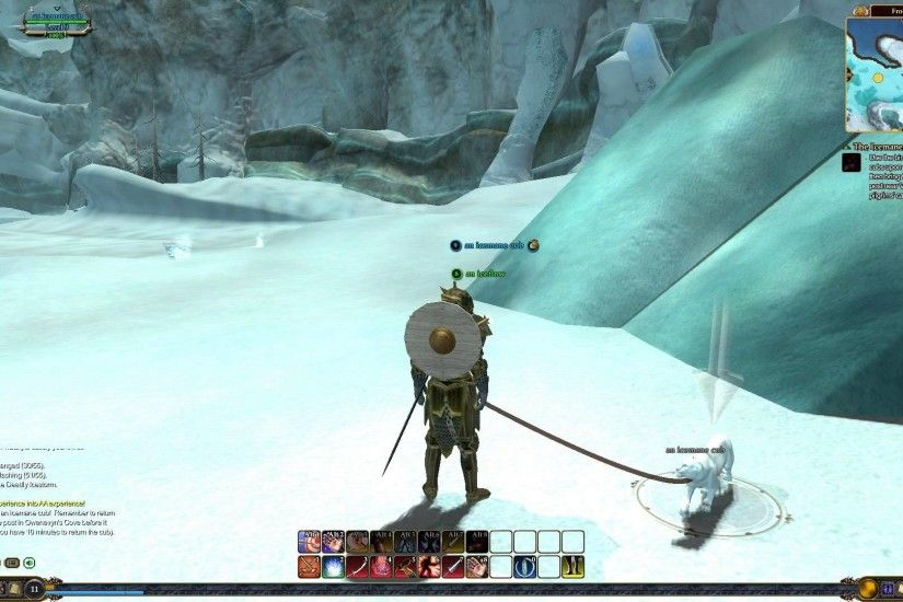 EverQuest 2 - FrostFang Sea - Verien Skysigh - The Icemanes Cometh - Level  8 - HD - YouTube