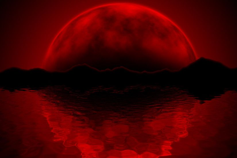 red moon wallpaper mobile Wallpaper HD