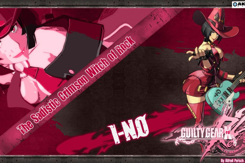 guilty gear xrd revelator,ino