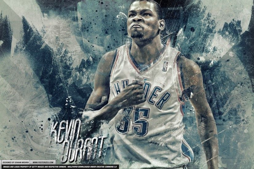 Kevin Durant – 'Beast Mode' (WALLPAPER)