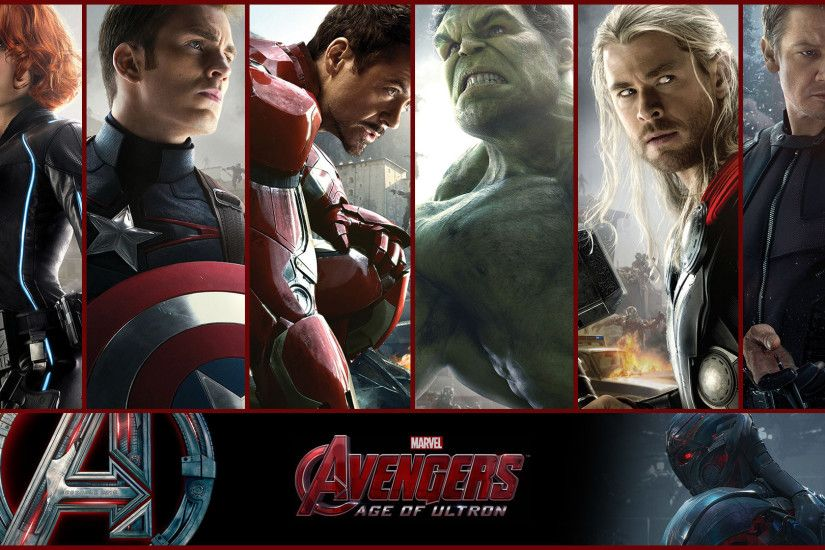 Avengers Age of Ultron 2015 Heroes Wallpaper HD