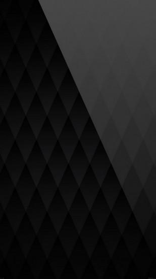 Black Diamond Pattern Angle Android Wallpaper
